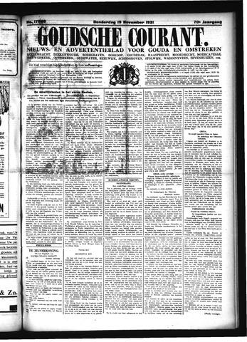 Goudsche Courant 1931-11-19