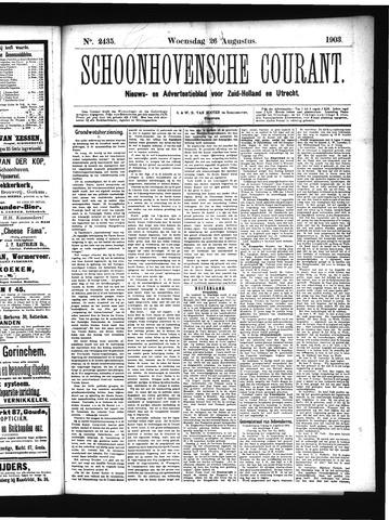 Schoonhovensche Courant 1903-08-26