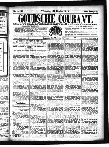 Goudsche Courant 1919-10-22