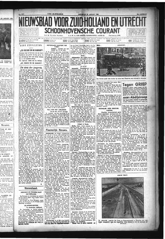 Schoonhovensche Courant 1933-01-25
