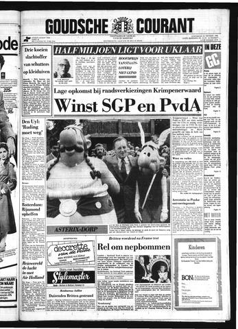 Goudsche Courant 1984-10-25
