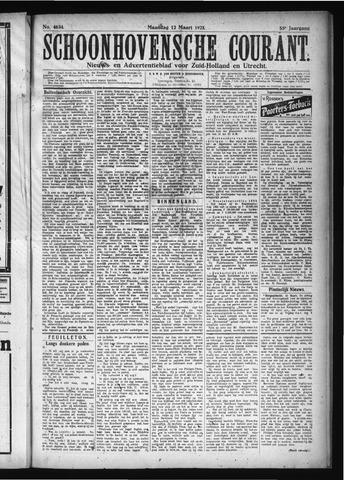 Schoonhovensche Courant 1923-03-12
