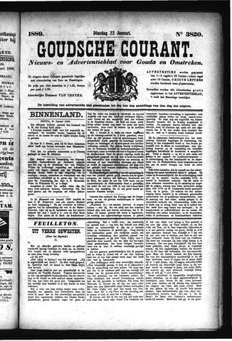Goudsche Courant 1889-01-22