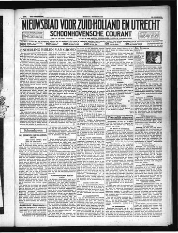 Schoonhovensche Courant 1937-11-01