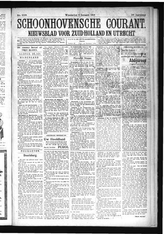 Schoonhovensche Courant 1927-01-05