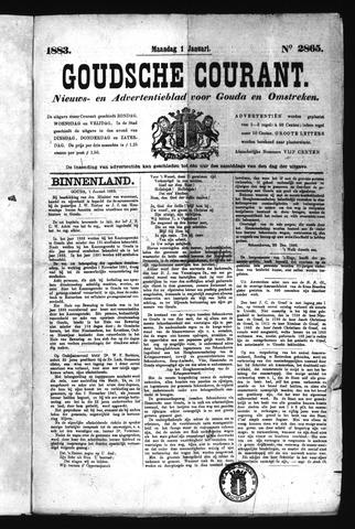 Goudsche Courant 1883
