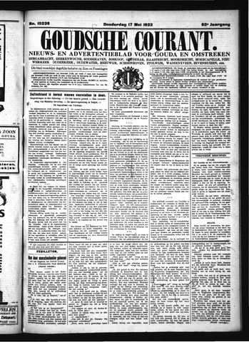 Goudsche Courant 1923-05-17