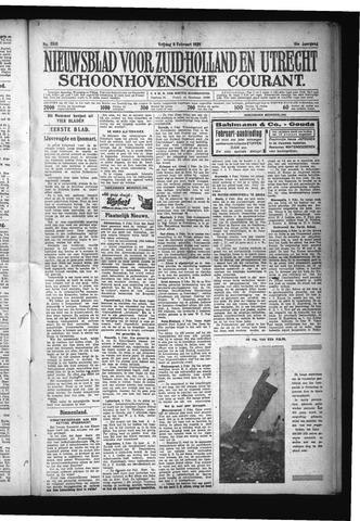 Schoonhovensche Courant 1929-02-08