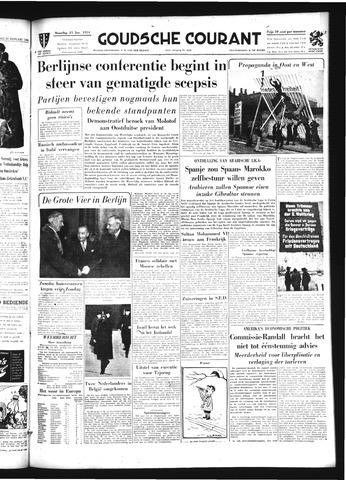 Goudsche Courant 1954-01-25