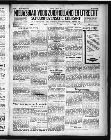 Schoonhovensche Courant 1936-03-27