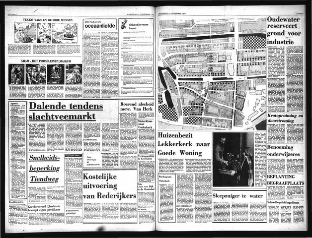 Schoonhovensche Courant 1974-11-06
