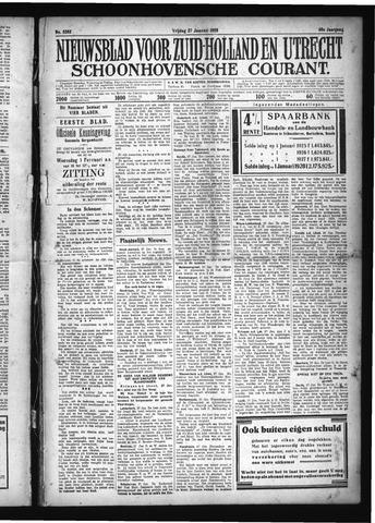 Schoonhovensche Courant 1928-01-27