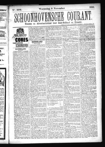 Schoonhovensche Courant 1910-11-09