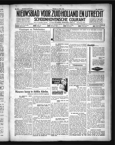 Schoonhovensche Courant 1936-04-24