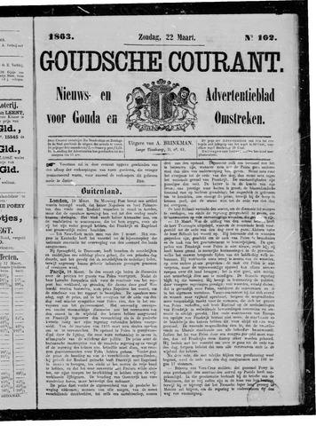 Goudsche Courant 1863-03-22