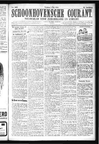 Schoonhovensche Courant 1924-05-02