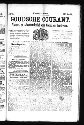 Goudsche Courant 1874-01-21