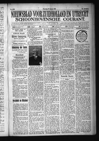 Schoonhovensche Courant 1929-01-28