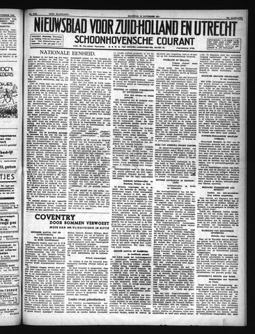 Schoonhovensche Courant 1940-11-18