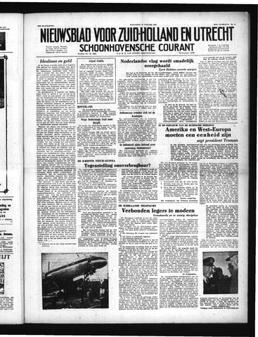 Schoonhovensche Courant 1951-01-10
