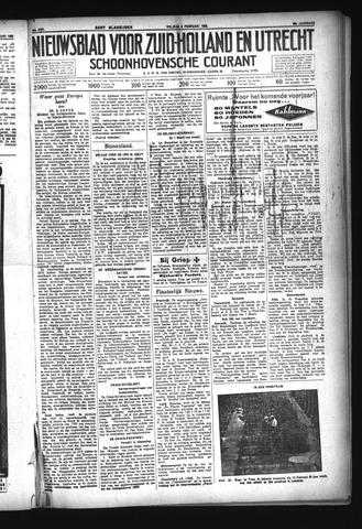 Schoonhovensche Courant 1933-02-03
