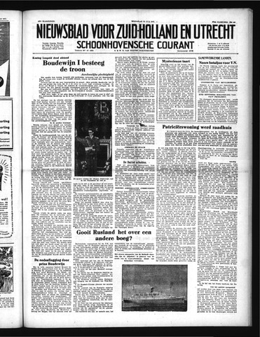 Schoonhovensche Courant 1951-07-18