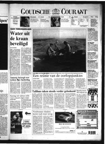 Goudsche Courant 2001-09-25