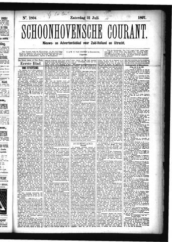 Schoonhovensche Courant 1897-07-31