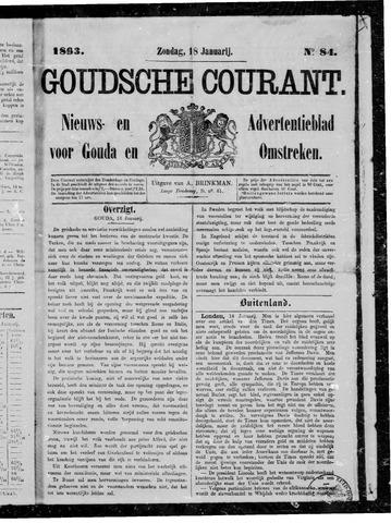Goudsche Courant 1863-01-18