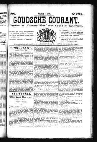 Goudsche Courant 1892-04-01
