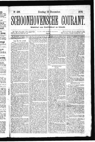 Schoonhovensche Courant 1878-12-15