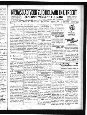 Schoonhovensche Courant 1937-02-24