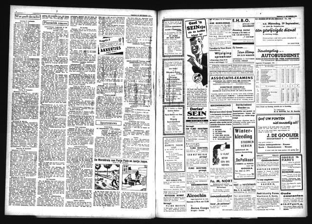 Schoonhovensche Courant 1940-09-26