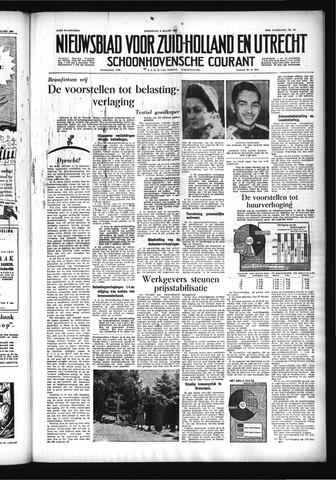Schoonhovensche Courant 1955-03-09