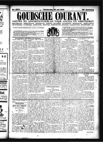 Goudsche Courant 1926-07-29