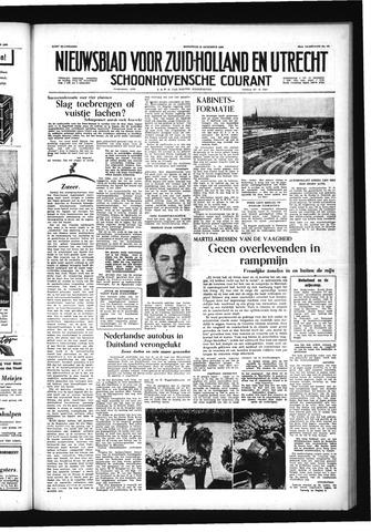 Schoonhovensche Courant 1956-08-15