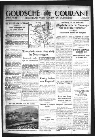 Goudsche Courant 1940-04-27
