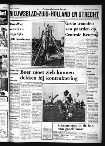 Schoonhovensche Courant 1973-08-01