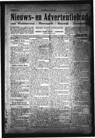 Advertentieblad Waddinxveen 1916-05-13