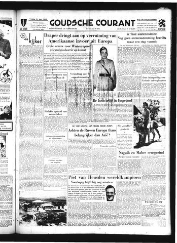 Goudsche Courant 1952-08-29