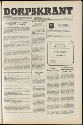 Dorpskrant 1981-04-24