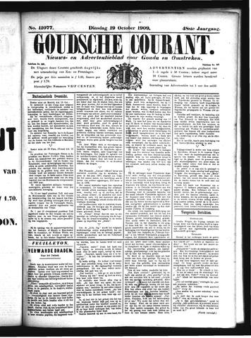 Goudsche Courant 1909-10-19