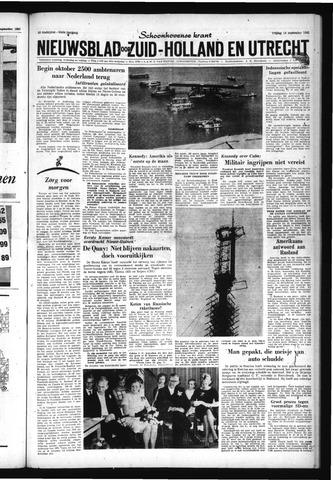 Schoonhovensche Courant 1962-09-14