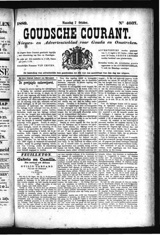 Goudsche Courant 1889-10-07