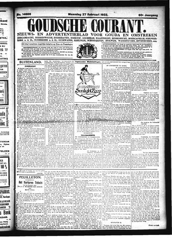 Goudsche Courant 1922-02-27