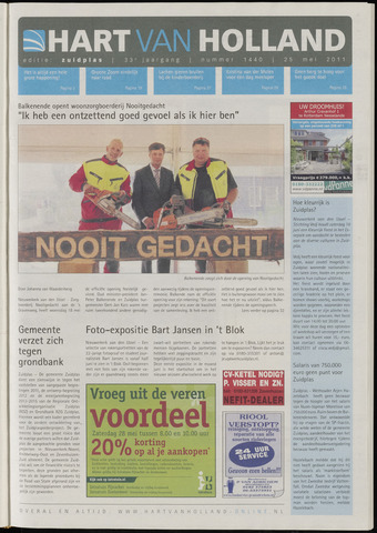 Hart van Holland - Editie Zuidplas 2011-05-25