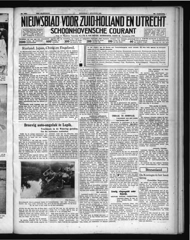 Schoonhovensche Courant 1938-08-03