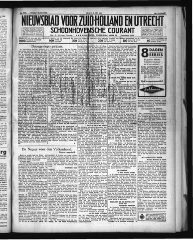 Schoonhovensche Courant 1936-07-03