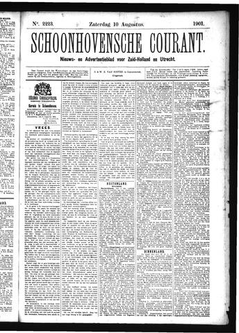 Schoonhovensche Courant 1901-08-10