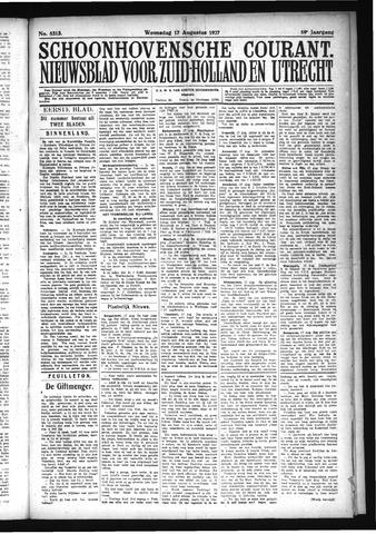 Schoonhovensche Courant 1927-08-17